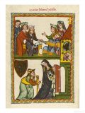 Johannes Hadlaub Poet and Minnesinger Citizen of Zurich Died in 1340 Giclee Print