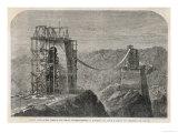 The Bridge Under Construction Giclee Print