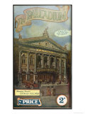 The London Palladium Giclee Print