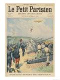 "The ""Lebaudy"" Military Airship Giclee Print"