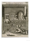 Prisoners in the Stocks in Lollard's Tower at Lambeth Palace Giclee Print