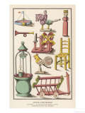 Various French Toys Available at Bon Marche Paris Giclee Print