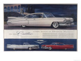 Single Glance Tells You, These are the Newest and Most Magnificent Cadillac Cars Ever Created Impression giclée