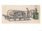 Printing Press by Applegarth and Cowper Giclee Print