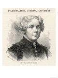 Elizabeth Cady Stanton American Women's Rights Reformer Giclee Print