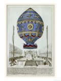 Balloon of de Rozier and d'Arlandes Makes Its First Manned Ascent Giclee Print