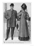 American Short Top-Coat Giclee Print