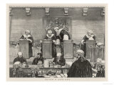 The Court of the Queen's Bench in Session Giclee Print