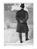 Back View of Frock Coat Giclee Print
