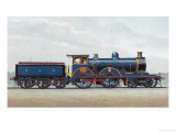 Great Eastern Railway Express Locomotive No 1000 Claud Hamilton Giclee Print