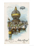 St. Louis World Fair, 1904 Giclée-Druck