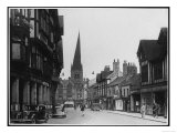 Chesterfield, Derbyshire, England with the Crooked Spire Dominating the Skyline Giclee Print