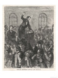 Lincoln-Douglas Debate Giclee Print