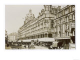 An Exterior View of Harrods London Giclee Print