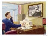 Video-Telephone Giclee Print