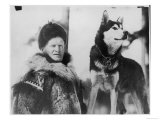 Alec Allan Scotsman Best Known for Training Sled-Dogs for Work and Racing Giclee Print