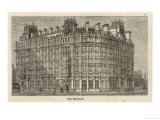 An Exterior View of the Grand Hotel in Trafalgar Square Giclee Print