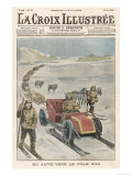Shackleton&#39;s South Pole Car Giclee Print