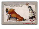 Comment on Lloyd George's National Insurance Act Giclee Print