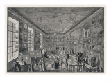 Perspective View of the Academie Royale of Painting and Sculpture in the Louvre Giclee Print