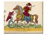 Armour Clad Knight of the Cross on Horseback Giclee Print