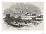 An Exterior View of the Prison Giclee Print