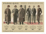 Coats and Suits for 1926 Giclee Print