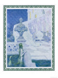 The Little Mermaid Watches the Prince Giclee Print