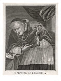 Alfonso Maria de Liguori Neapolitan Founder of the Order of Redemptorists Giclee Print