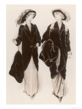 Fur Coats Giclee Print