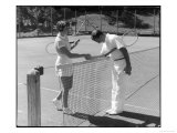 Tennis Chivalry 1930s Reproduction procédé giclée
