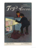 Fry's Cocoa Advert Giclee Print