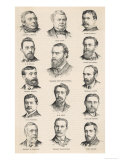 The Leaders of the Irish Parliamentary Party Including Charles Stewart Parnell Giclee Print