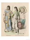 Ancient Egypt Depicting the Clothing and Regalia of an Ancient Egyptian King Giclee Print