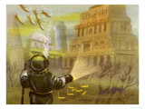 Discovery of Atlantis and Other Submerged Civilisations Giclee Print