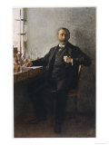 Alfred Nobel Swedish Inventor Manufacturer and Prize-Giver Giclee Print