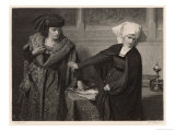 Measure for Measure, Isabella Reject's Angelo's Dishonourable Suggestion Giclee Print by A. Spiess