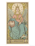 Tarot: 3 L'Imperatrice, The Empress Giclee Print by Oswald Wirth