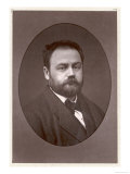 Emile Zola French Writer Giclee Print