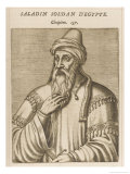 "Salah Ad-Din Yusuf Ibn Ayyub Ka ""Saladin"" Muslim Sultan of Egypt and Syria Giclee Print by Andre Thevet"