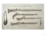 Matchlock Rifles Giclee Print