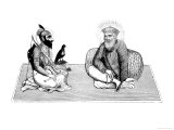 Guru Nanek Dev, Founder of the Sikh Religion Giclée-Druck