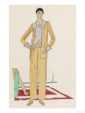 My Friends Looked Askance the First Time They Saw Me in Pants Giclee Print