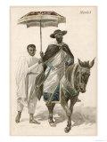 Menelik II Emperor of Ethiopia Giclee Print