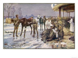 Countless Horses are Victims of Mankind's Wars Giclee Print