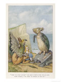 When We were Little Giclee Print by John Tenniel