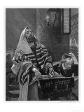 Priest in the Synagogue Giclee Print by St. Grocholski