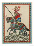 German Minnesanger Giclee Print