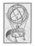 Tycho-Brahe's Astrolabe Giclee Print