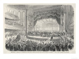 An Election Meeting in Chicago Opera House: in the Outcome General Grant Will be Elected Giclee Print